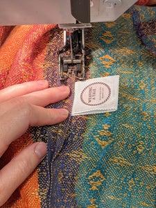 Sew Down Shoulder Seam (optional)