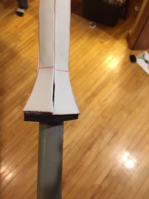 Picture of Finishing the Handle Trim