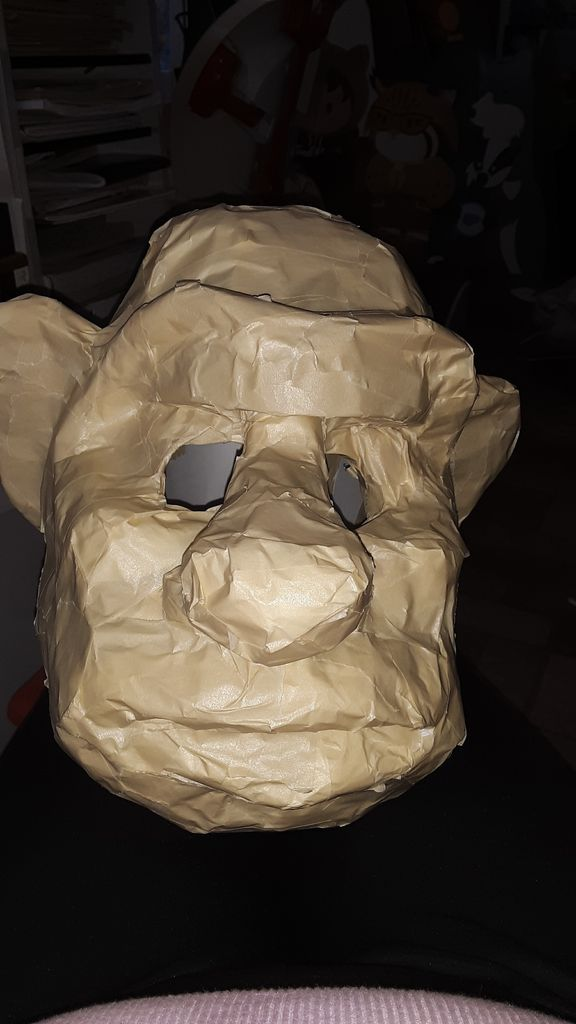 Picture of How to Make Hoggles Mask/Head