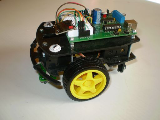 Picture of 1/2-a-bot Educational Robot
