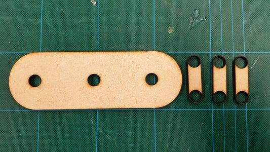 Basic Frame and Keyring