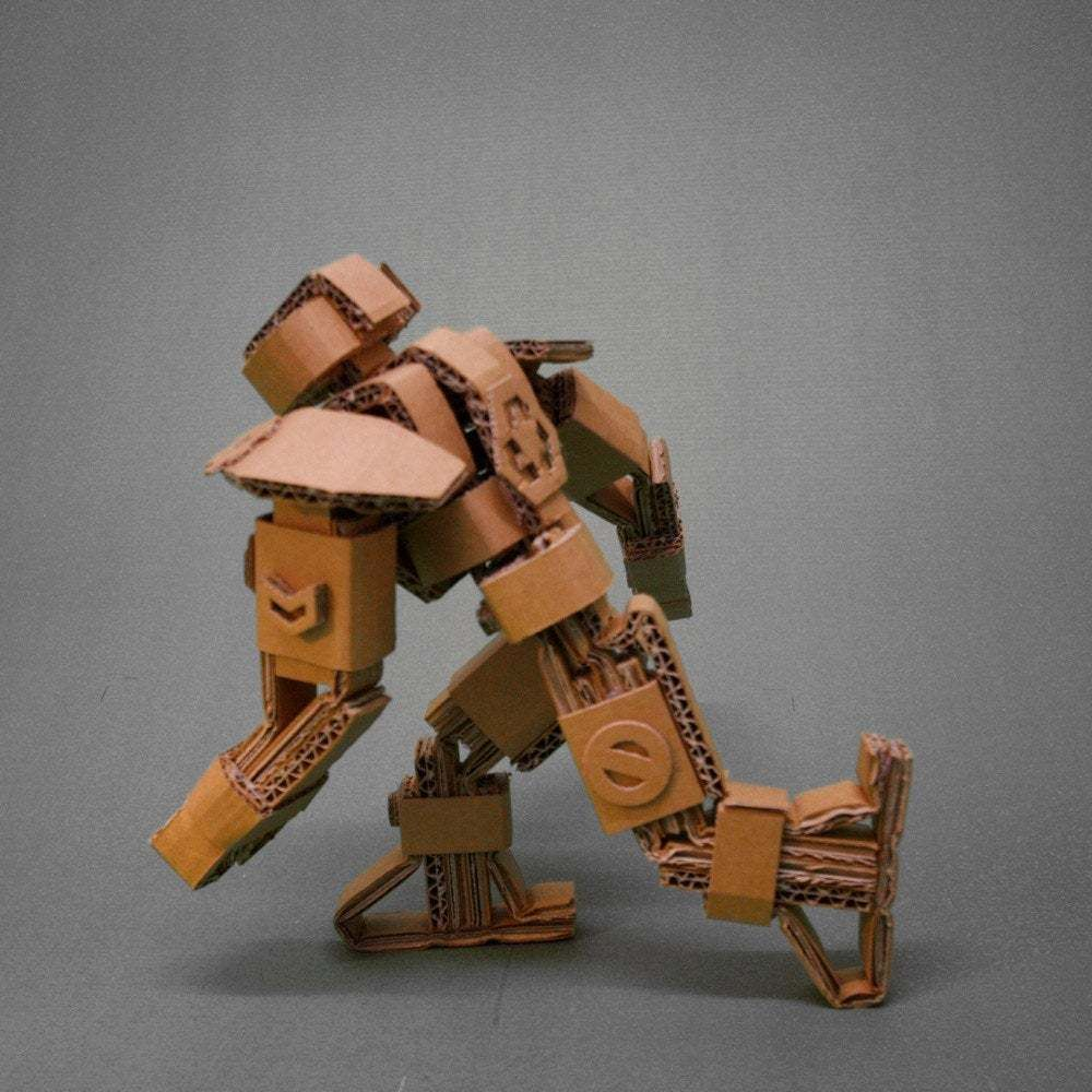 Picture of KURT.1 the Articulated Cardboard Robot