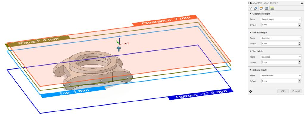Picture of Creating Milling Operations: Heights
