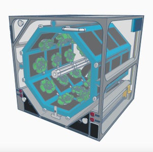 OctoGarden - Gardening Concept for Use on the International Space Station