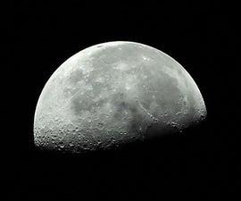 初学者月球摄影指南(使用入门级相机和配套镜头)