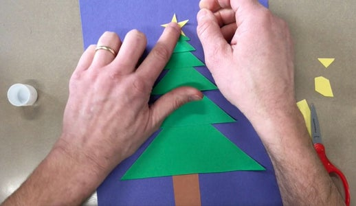 Make the Star & Decorate the Tree