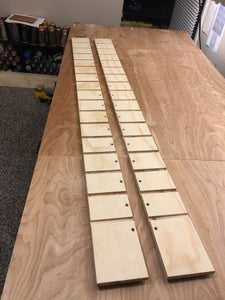 Drill Holes for Dowels