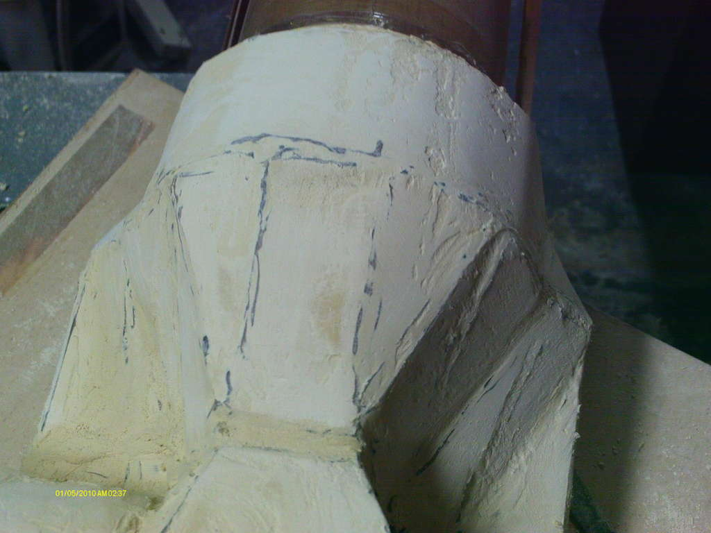 Picture of Filling and Sanding