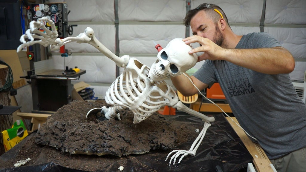 Picture of Reattach Your Skeleton's Arms and Head