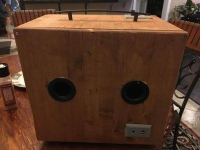 Homemade Bluetooth Speaker With Dayton Audio Amplifier