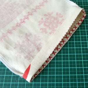 Measure and Fold Drawstring Hem