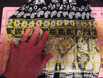 Cut Fabric Pieces.