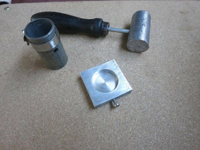 Lead Hammer Mold for Machine Shop