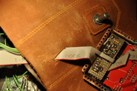 Stitching the Casing to the Leather