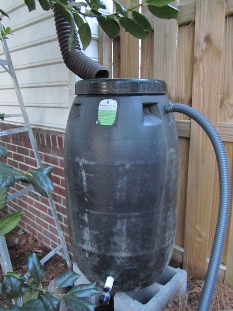 Picture of How to Make a Rain Barrel From a Pickle Barrel