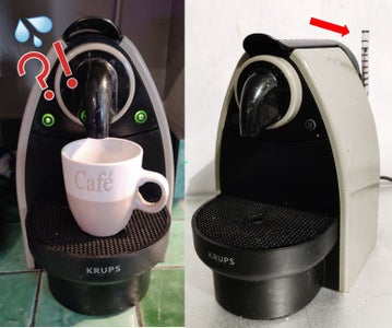 Custom and Robust Water Level Indicator for Coffee Machine That Couldn't Be Simpler