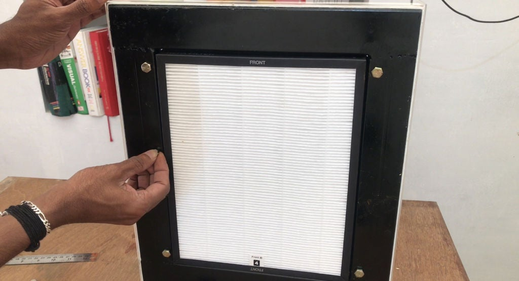 Picture of How to Make an Air Purifier Project