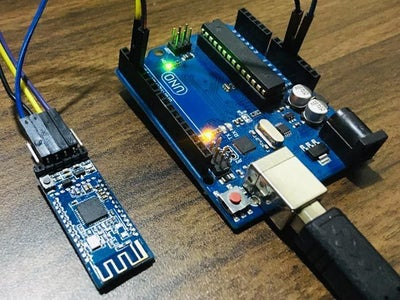 How to Use HM-10 BLE Module With Arduino and Control a LED With It