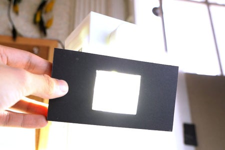 What's the Plexiglass Diffuser For?