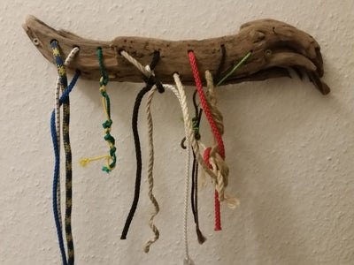 Kids Rope and Knot Toy Wall Art Driftwood Board