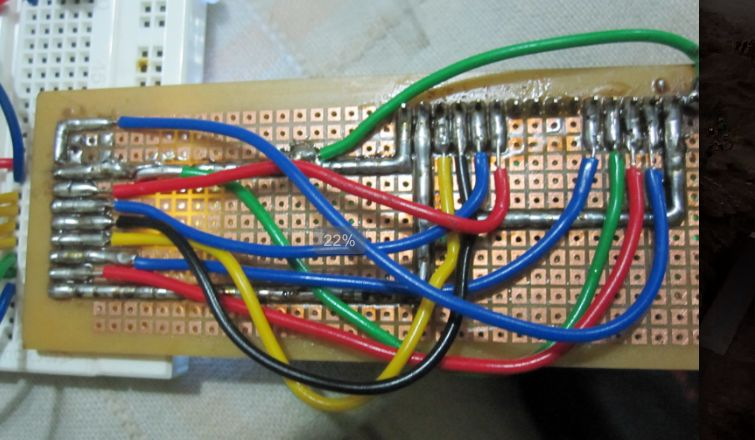 Picture of LCD Wiring