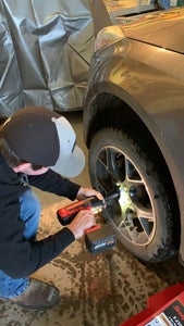 Putting on New/spare Tire