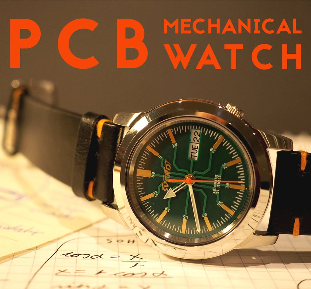 Picture of PCB Dial Mod for Mechanical Watch