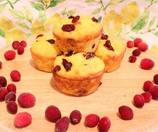 Cranberry Lemon Muffins (Secretly Healthy!)