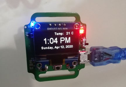 Smart Watch Based on ESP8266 by JLCPCB