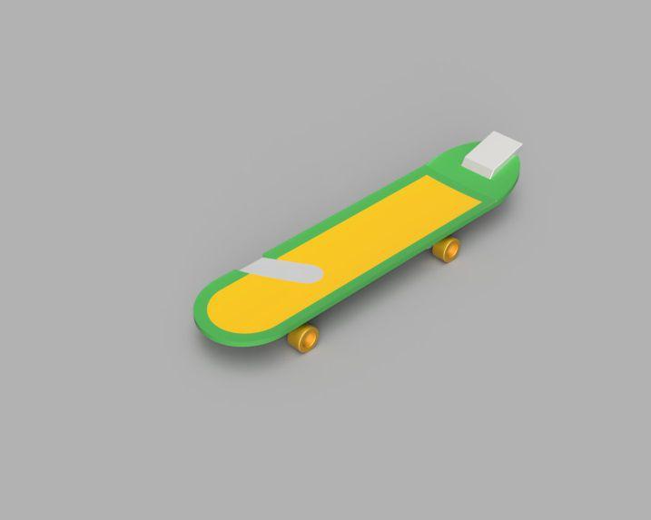 Picture of   Conan's Rocket Skateboard