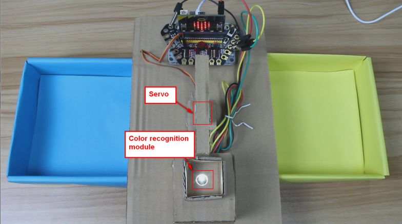 Picture of How to Make a Color Sorter Project With Microbit?