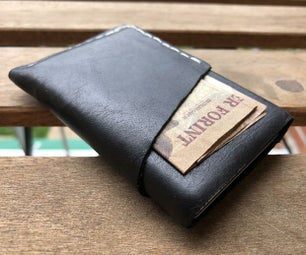 超薄EDC真皮钱包 - 无需特殊工具