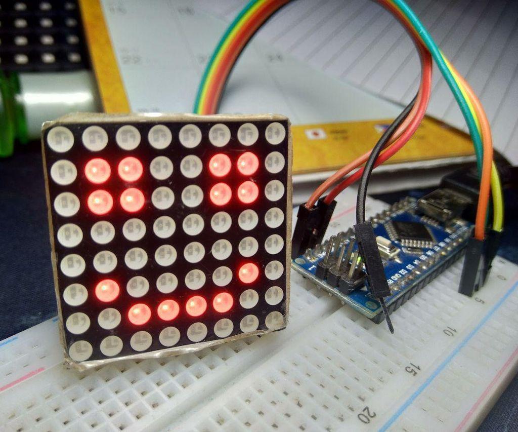 Arduino Smile MAX7219 Matrix LED Tutorial