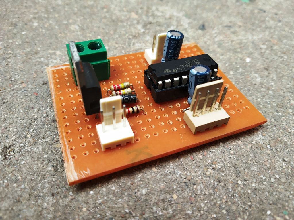 Picture of Power Efficient Motor Driver Board