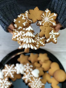 Christmas Honey Spiced Cookies