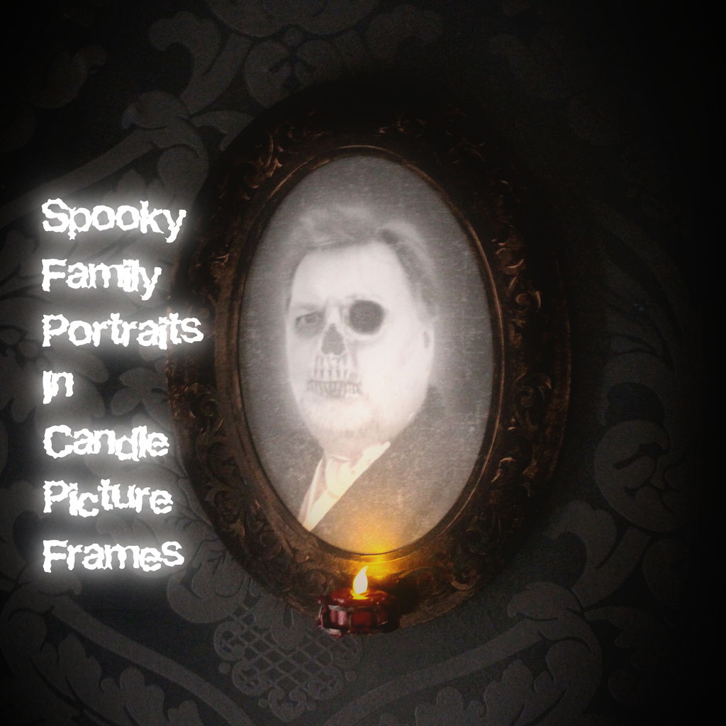 Picture of Spooky Candle Picture Frame