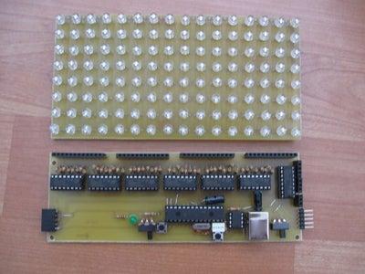 Cascadable 8x16 Rgb Led Matrix