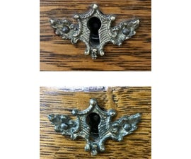 Replacing Antique Hardware With Epoxy