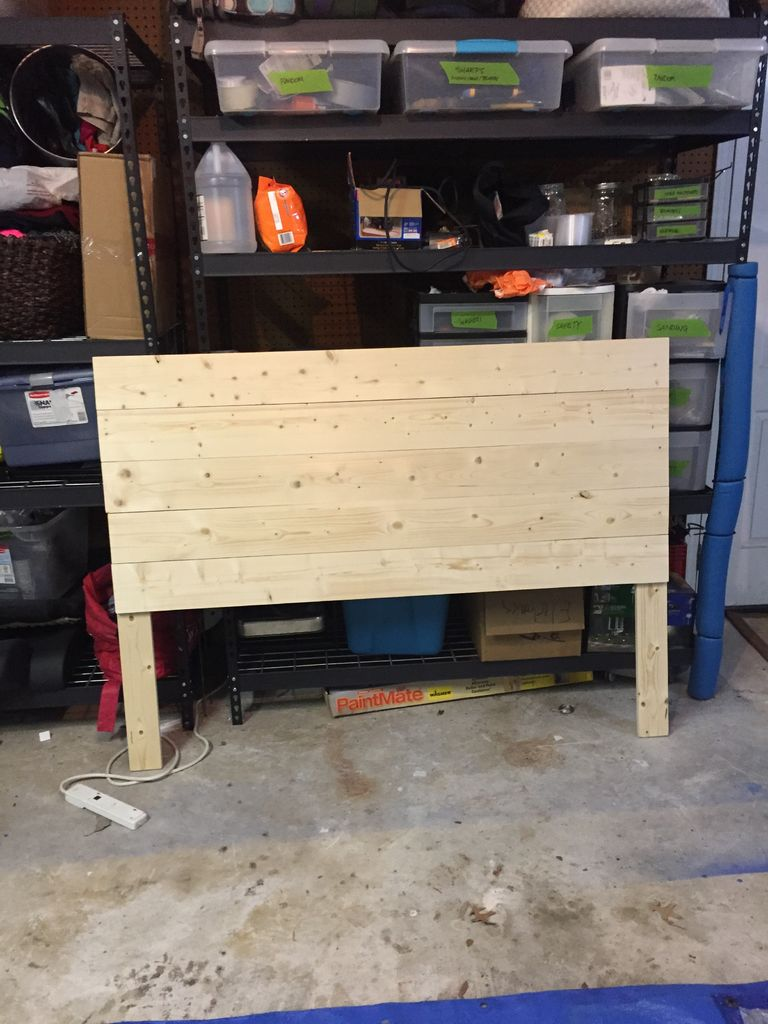 Picture of Attach 1x6s to To Form the Front Panel.