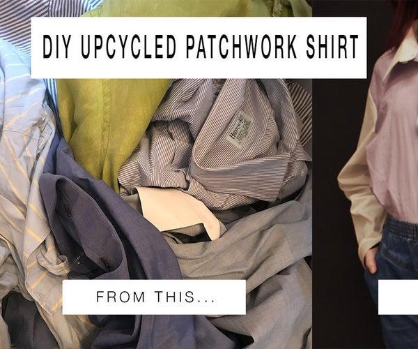 DIY Upcycled Patchwork Shirt