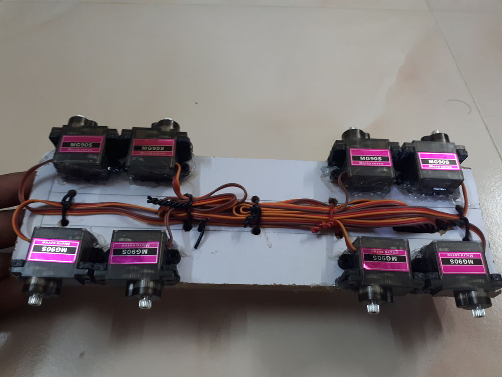 Picture of Join Servo to PCB