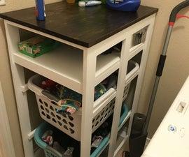 Laundry Room Organizer