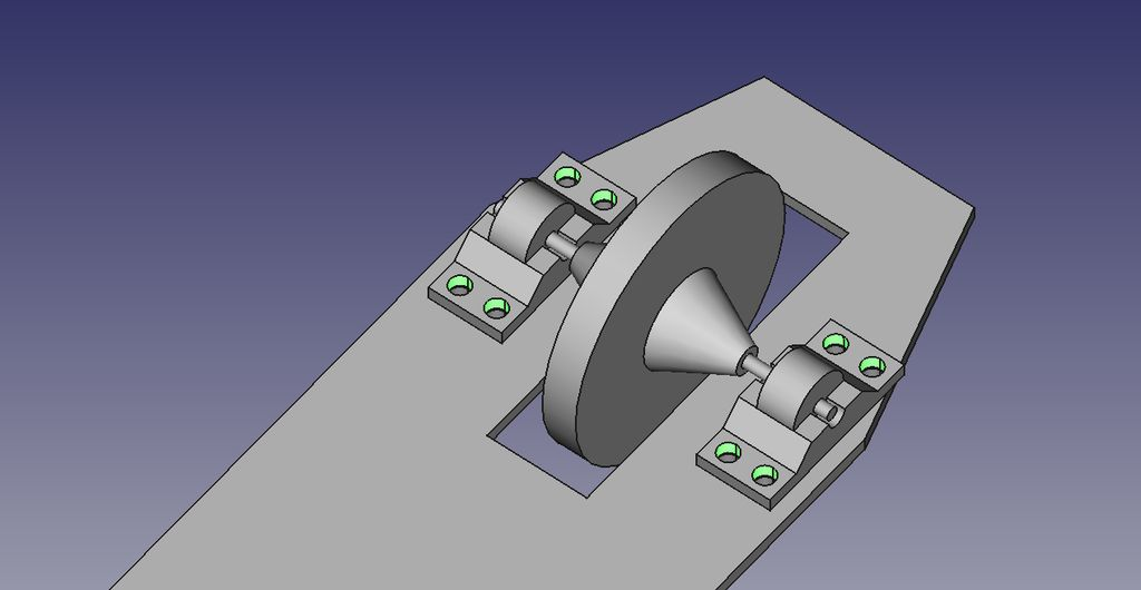 Picture of Main Wheel Assembly