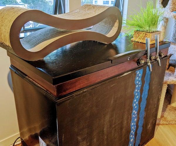 Chest Freezer Carbonator for Unlimited Seltzer