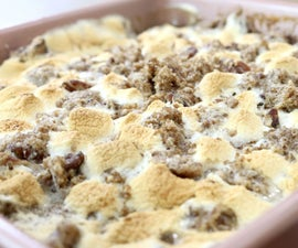 How to Make Sweet Potato Casserole With Marshmallows and Streusel Topping