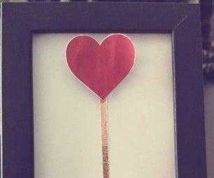 Valentine's Day Interactive Heart Frame