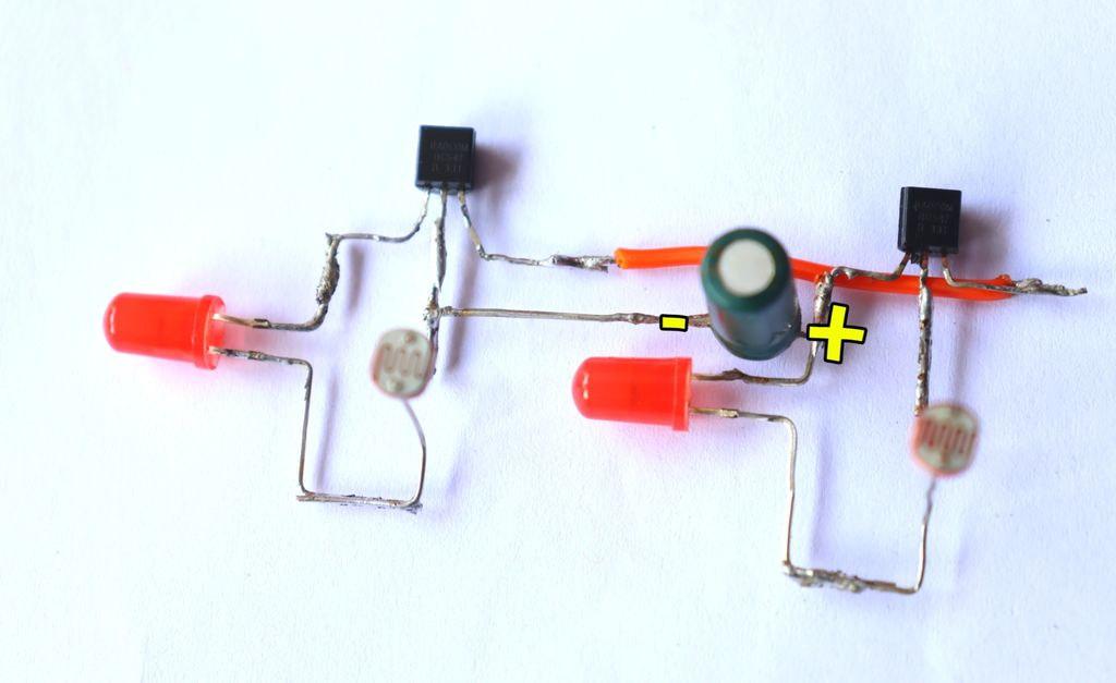 Picture of Connect Capacitor