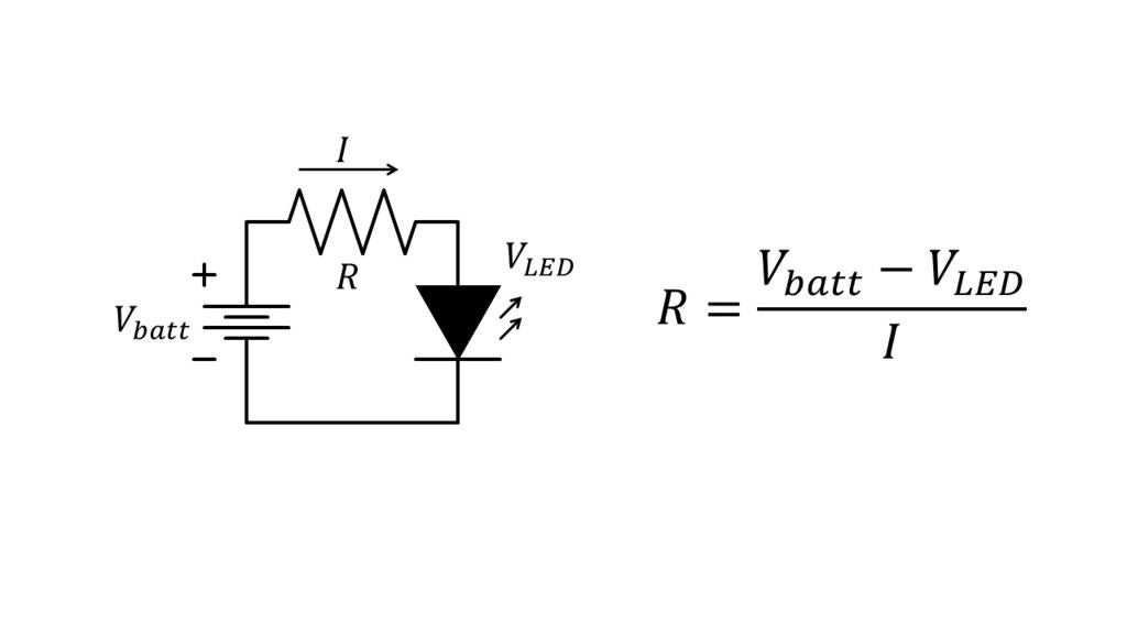 Picture of Calculating the Resistor for a Single LED