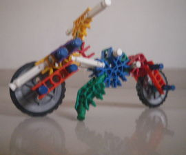 Knex Scooter Bike with Stand