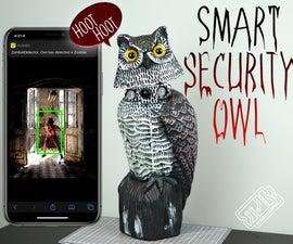 Zombie Detecting Smart Security Owl